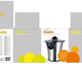 #19 cho Create Minimalistic Print and Packaging Designs for a Citrus Juicer bởi MarinaMarkizova
