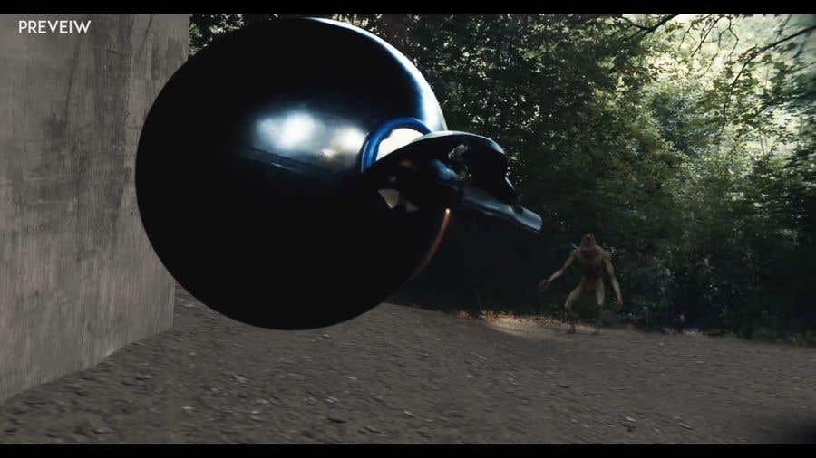 Contest Entry #                                        6                                      for                                         Add monster -------FILM---------  Add VFX to this shot