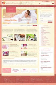 #1 for Website Design for Wedding Portal by antonyngo