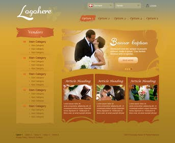 #10 for Website Design for Wedding Portal by brnbhttchry