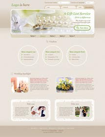 #34 for Website Design for Wedding Portal by artnika