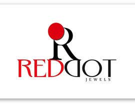 #38 para Logo Design for Red-Dot Jewels por rukminikotamraju