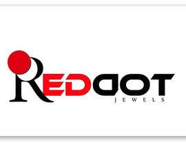 #42 para Logo Design for Red-Dot Jewels por rukminikotamraju
