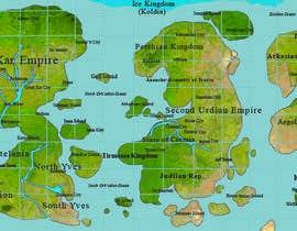 #8 for Map Illustration by devjoyti
