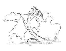 #48 for Mystic, fantasy, lake serpent by berragzakariae
