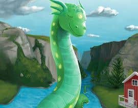 #62 for Mystic, fantasy, lake serpent by junior0593