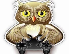 #96 for T-shirt Owl Design for Geek/Gamer Shop by borkica