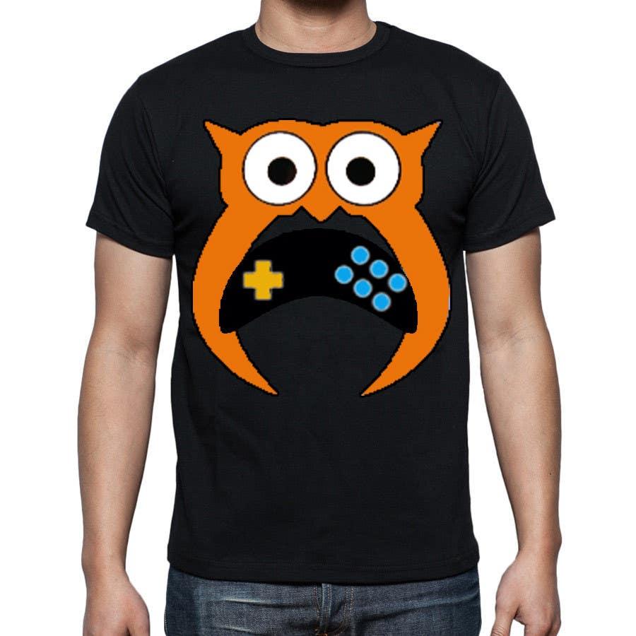 Bài tham dự cuộc thi #153 cho T-shirt Owl Design for Geek/Gamer Shop