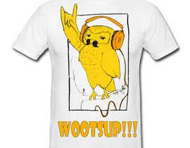 #154 for T-shirt Owl Design for Geek/Gamer Shop af jewelson92