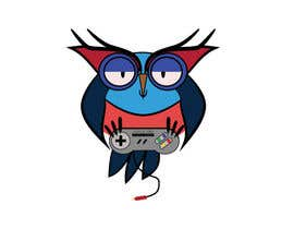 #55 for T-shirt Owl Design for Geek/Gamer Shop by annesowhat