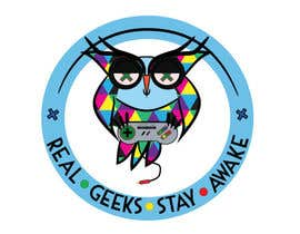 #95 for T-shirt Owl Design for Geek/Gamer Shop by annesowhat