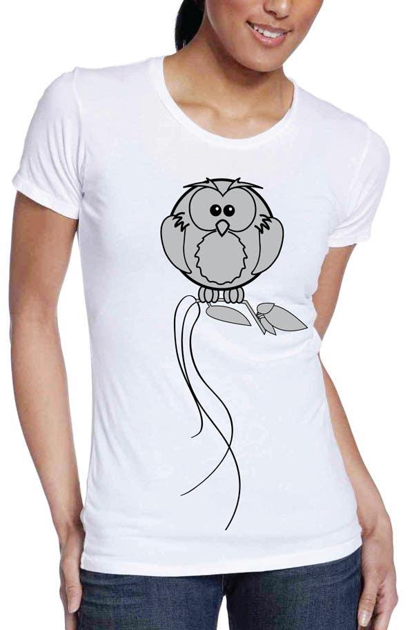 Bài tham dự cuộc thi #107 cho T-shirt Owl Design for Geek/Gamer Shop
