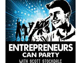 #72 for Logo for my new podcast, Entrepreneurs Can Party! by fleru
