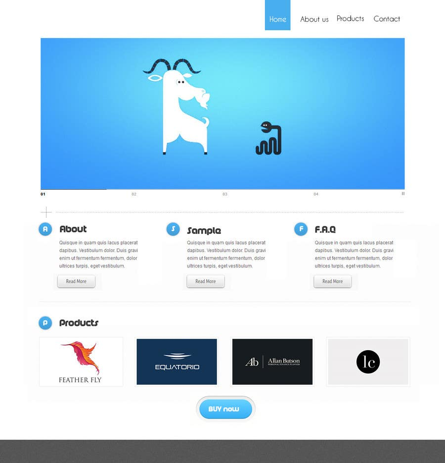 #3 for improve look of existing website by minimani