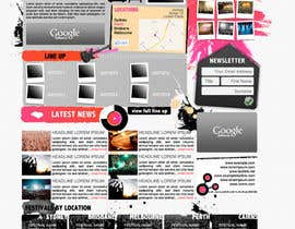 #17 per Website Design for eFestivals da FatXGraphics
