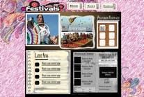Graphic Design Konkurrenceindlæg #9 for Website Design for eFestivals