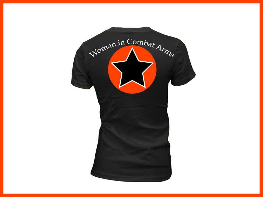 Konkurrenceindlæg #3 for T-shirt Design for Military Apparel.