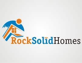#5 for Logo Design for Rock Solid Homes by dyv
