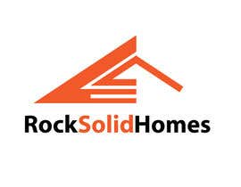 nº 313 pour Logo Design for Rock Solid Homes par saledj2010
