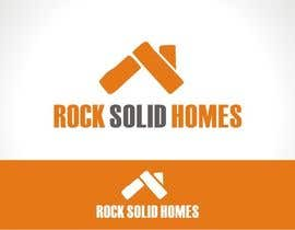 #162 pentru Logo Design for Rock Solid Homes de către CreativeCG