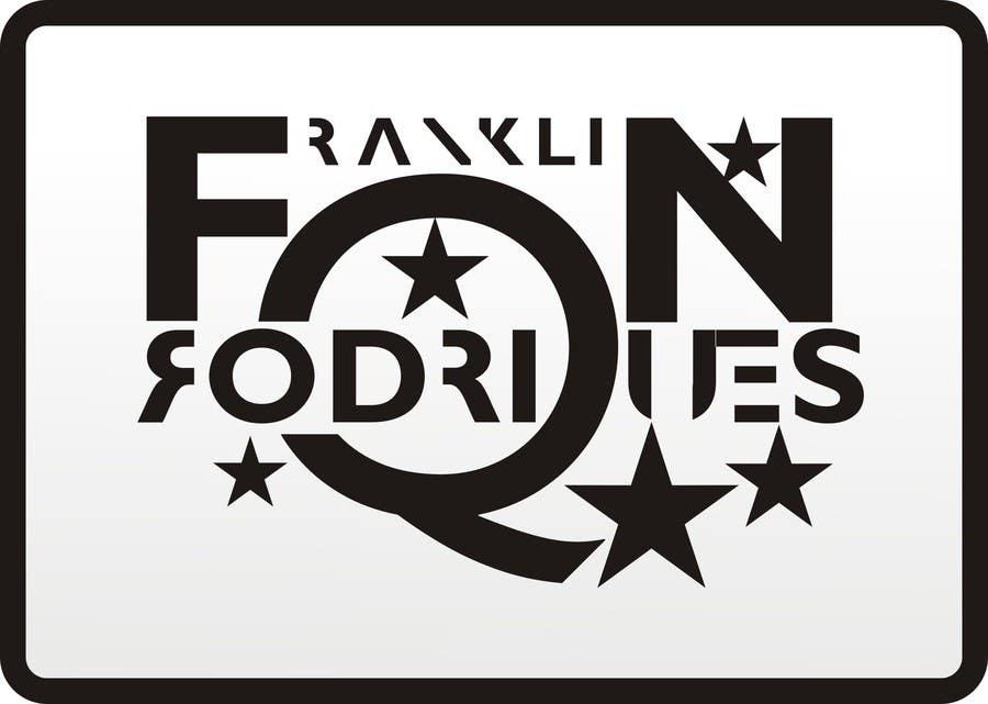 Kilpailutyö #                                        21                                      kilpailussa                                         Logo Design for dj franklin rodriques