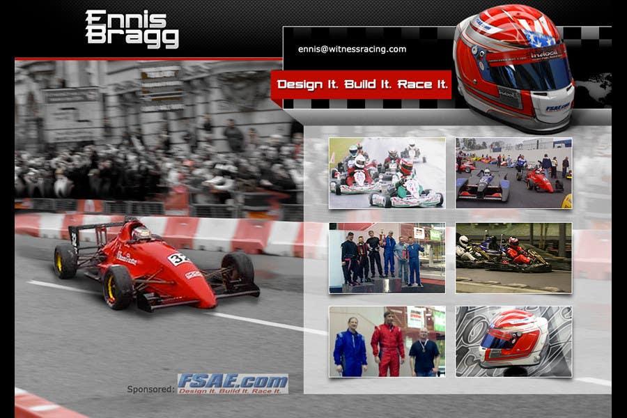 Proposition n°                                        2                                      du concours                                         Graphic Design for ennisbragg.com