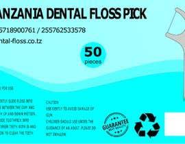 #5 para Create label for dental floss box por AngiePavlov