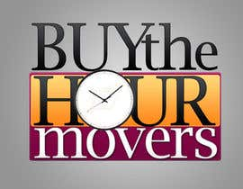 #89 para Logo Design for BUY the Hour Movers por Mohamm6d
