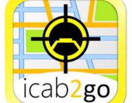 nº 21 pour Icon or Button Design for icab2go par Stevieyuki