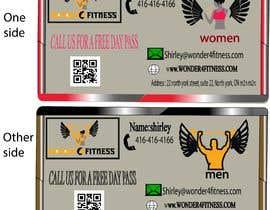 #746 untuk Design business card for a gym oleh Abdo1963