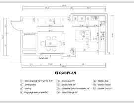 #5 for Kitchen/Dining Room Remodel af thewind154