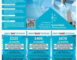 #2 para Tri-Fold Brochure Design for Social Media Marketing Sevices por ManuelSabatino