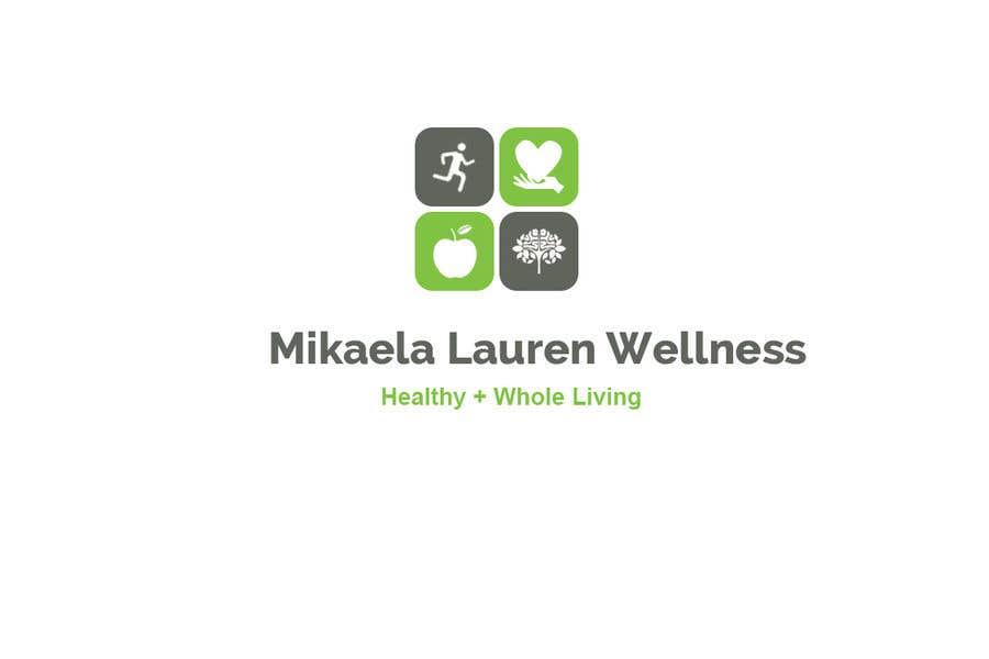"""Konkurrenceindlæg #                                        415                                      for                                         Logo for """"Mikaela Lauren Wellness"""""""