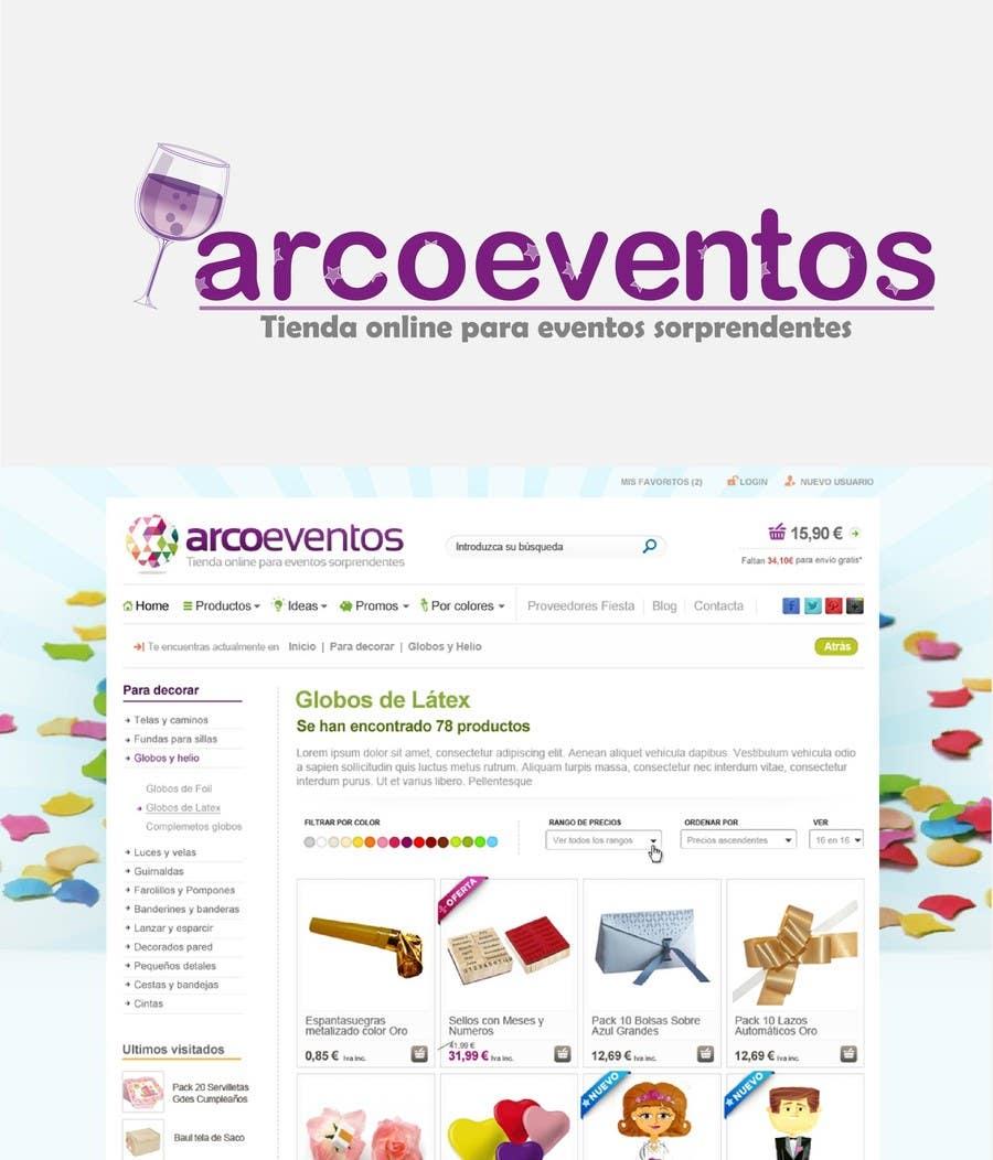 Proposition n°74 du concours Logo Design for ArcoEventos.com