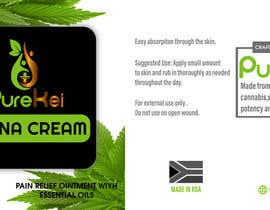 shawonsowdagor tarafından Design a label for my canna cream için no 2