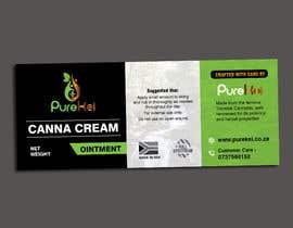 MDSUHAILK tarafından Design a label for my canna cream için no 7