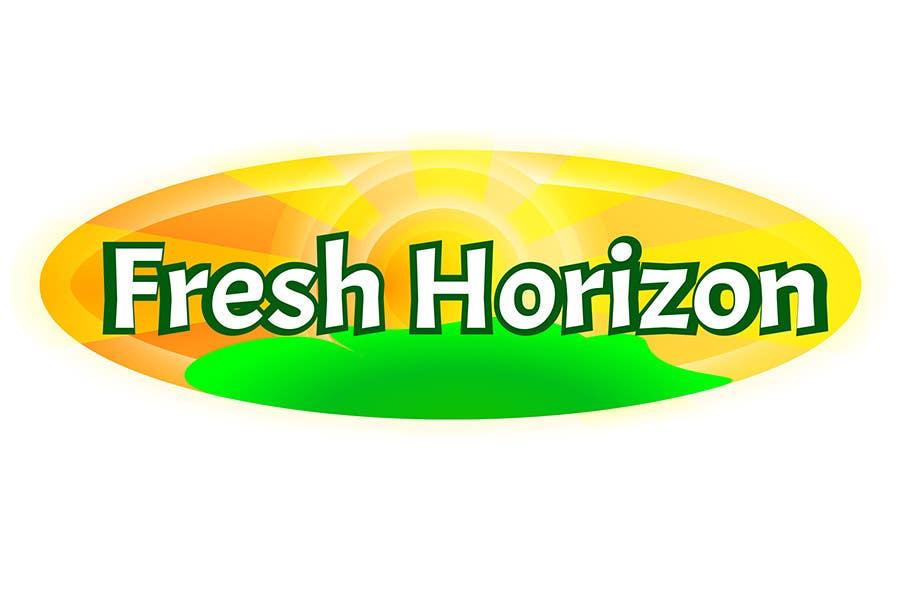 Inscrição nº 2 do Concurso para Logo Design for nutritional products called Fresh Horizon