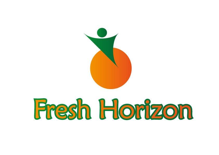 Inscrição nº 3 do Concurso para Logo Design for nutritional products called Fresh Horizon