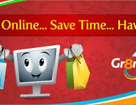 #79 for Banner Ad Design for www.gr8mart.com af nikhil012