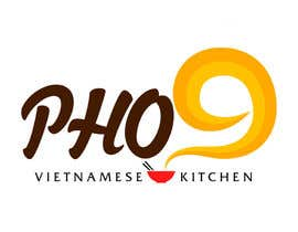 "#68 for Design a Logo for a Vietnamese Kitchen Restaurant ""Pho Nine"" by Chaddict"
