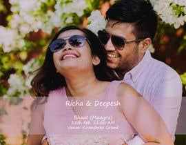 #42 untuk Build invites for wedding oleh diptakdutta