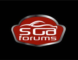 #26 untuk Logo Design for SGA Forums Automotive Site oleh Don67