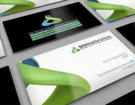 #9 para Business Card Design for SEOWeb Solutions por midget