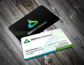 #32 for Business Card Design for SEOWeb Solutions af ezesol