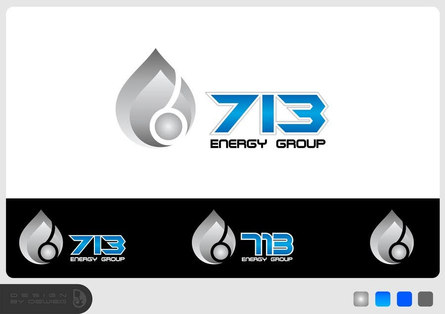 #190 for Complete Make Over, Logo, Website, Brochures, Flyers.  Start w/Logo,  713 Energy Group by Dewieq