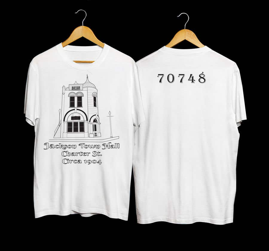 Contest Entry #                                        40                                      for                                         Historic Homes T-shirts