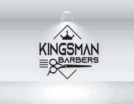 #149 for design me a cool but simple barber shop logo- (Kingsman Barbers) black & white only! by tarikulislam86