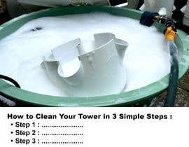 #13 for I would like an image of this image on an iPad with just a white background. The second image I would like at the top of a page with the words underneath saying, How to Clean Your Tower in 3 Simple Steps. underneath have steps 1...2...3... by AbdelBoughlam