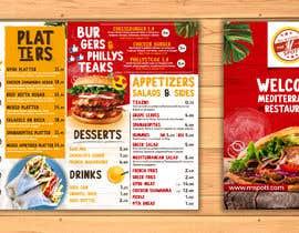 #22 untuk Create new restaurant menu ( for screen display & print) oleh flamusgualdron