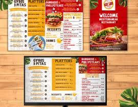 #35 untuk Create new restaurant menu ( for screen display & print) oleh flamusgualdron